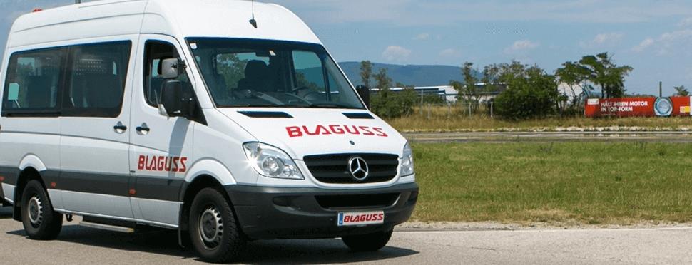 Blaguss Minibus Service Fahrtendienst