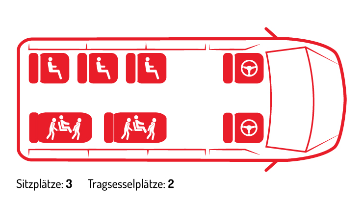 Mercedes Sprinter Tragsessel 2 0