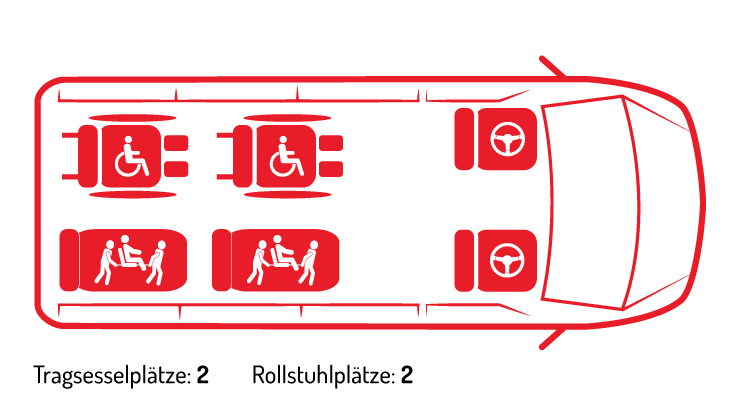 Mercedes Sprinter Tragsessel 2 2